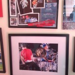 Close up: Isle of Wight June 2014 memory frame and one of my favourite photos I took of the band
