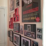 The memorabilia wall