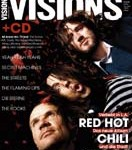 Visions magazine cover Red Hot Chili Peppers