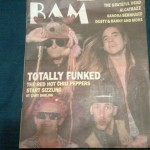 Bam Red Hot Chili Peppers magazine cover