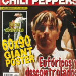Anthony Kiedis magazine cover