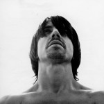 Anthony Kiedis black & white head