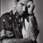 Anthony Kiedis black & white