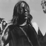 Anthony Kiedis black & white photo far out man