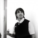 Anthony Kiedis black & white photo