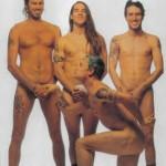 flea crouching nude