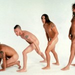naked Red hot chili peppers Anthony Kiedis