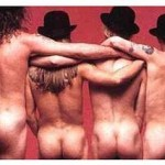 Red Hot Chili Peppers naked bums