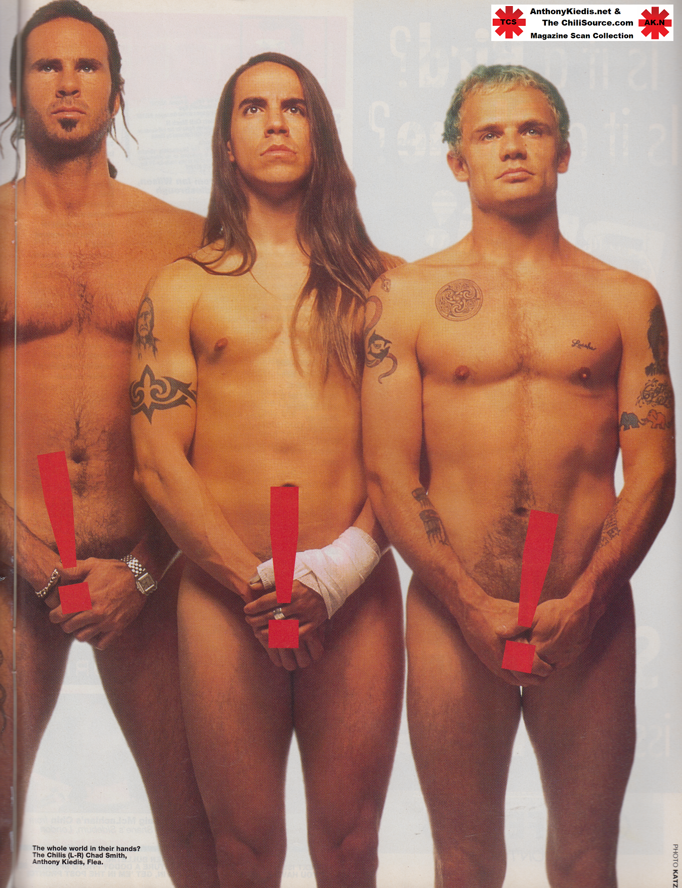 03/1994 smash hits | anthony kiedis
