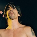 naked chest kiedis black background
