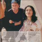 anthony Kiedis italian magazine Red Hot Chili Peppers John Frusciante Chad Smith