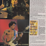 anthony Kiedis italian magazine Red Hot Chili Peppers chad smith flea