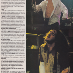 anthony Kiedis italian magazine Red Hot Chili Peppers john frusciante