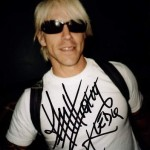 Anthony Kiedis autographed photo