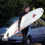 anthony kiedis carrying white board red design
