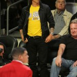 Anthony Kiedis Lakers game LA At NBA Finals Game 3: LA Lakers Vs. Boston Celtics