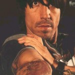 Anthony Kiedis tattoo tiger
