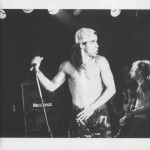 black white naked chest anthony kiedis with cap