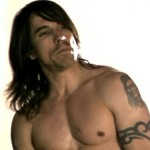 Anthony Kiedis topless