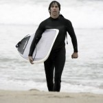anthony kiedis carrying boogie board