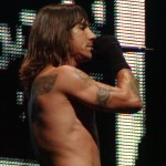 anthony kiedis topless sideways live