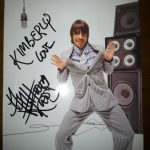 anthony Kiedis signed photo for fan