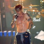 naked chest anthony Kiedis with blue jeans