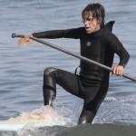 anthony kiedis wetsuit paddle