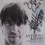 anthony Kiedis signed photo for fan malibu magazine cover