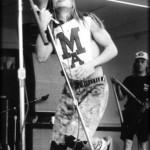 Early Anthony Kiedis live MA t-shirt