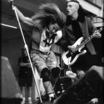 Early Anthony Kiedis live hair swing