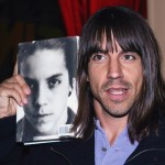 Scar Tissue by Anthony Kiedis AK holding book