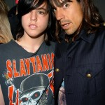 ak with james kiedis