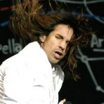 Anthony Kiedis white suit sex face