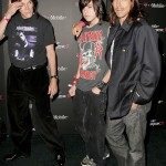 blackie, james and ak at hollywood opening