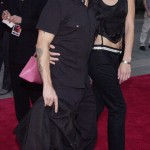 Anthony Kiedis & Yohanna Logan red carpet