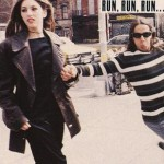 Anthony Kiedis and ex-girlfriend Sofia Coppola on NY street