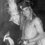 Anthony Kiedis and ex-girlfriend jenniferBruce