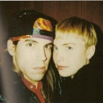 Anthony Kiedis and ex-girlfriend Carmen Hawk