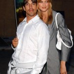 Anthony Kiedis and ex-girlfriend Celesta Hodge