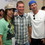 Red Hot Chili Peppers and Train Perform At The NASCAR All-Star Challenge