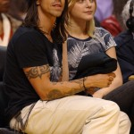 Anthony Kiedis &amp; ex-girlfriend Jessica Stam