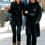 Anthony Kiedis with ex-girlfriend Jessica Stam