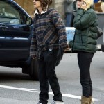anthony kiedis crossing raod with jessica stam