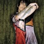 Anthony kiedis RHCP multi-colored shirt tattoo