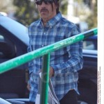 anthony kiedis new short hair style blue shirt