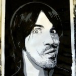 nthony Kiedis painting by Fabulous Fab; copied with kind permission; all rights reserved by Fabrice Drouet