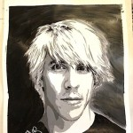 Anthony Kiedis Painting by Fabulos Fab; copied with kind permission; all rights reserved by Fabrice Drouet