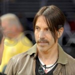 anthony kiedis short hair brown jacket
