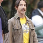 anthony kiedis may2 2011 LA lakers short hair